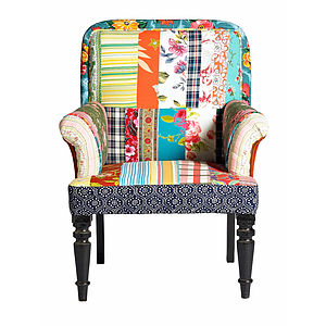 Patchwork Armchair - armchairs