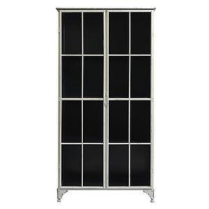 Large Metal Display Cabinet