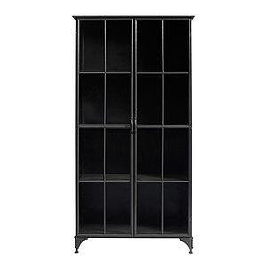 Large Metal Display Cabinet - cabinets