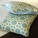 Grand Alhambra Stars Aqua Cushion