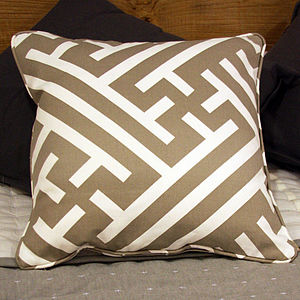 Grand Bhutan Lattice Cushion - cushions