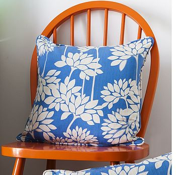 Penelope Cornflower Blue Cushion