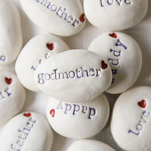 'Godmother' Gift Pebble