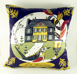 La Maison  Silk Cushion - cushions