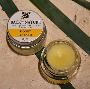 Pack Of Two Totally Natural Honey Lip Balms - delicious beauty