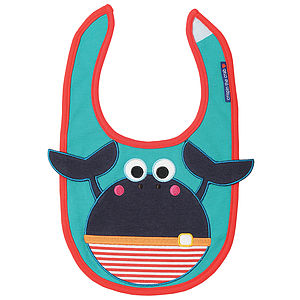 Crispin The Crab Bib - bibs