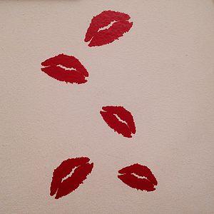 Mini Lips Wall Stickers
