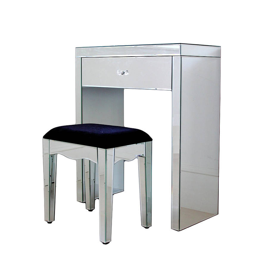 Mini mirrored dressing table by out there interiors for Dressing table