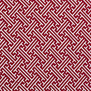 Bhutan Lattice Warm Red