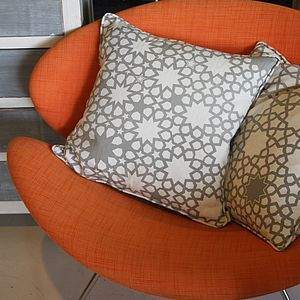 Grand Alhambra Stars Cushion - cushions