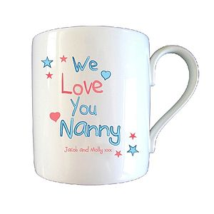 Personalised 'Love You Grandma / Nanny' Mug
