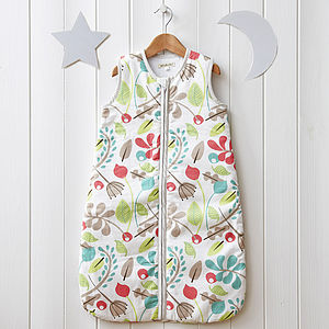 Leafy Baby Sleeping Bag - baby sleeping bags