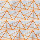 Geometric Triangles Cotton Tea Towel