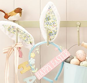 Fluffy Floral Bunny Ears - shop by price
