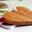 Personalised Valentine's Day Wooden Heart