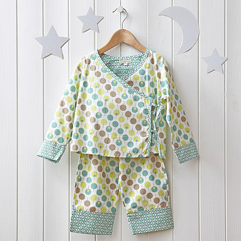 girls kimono pyjama LA