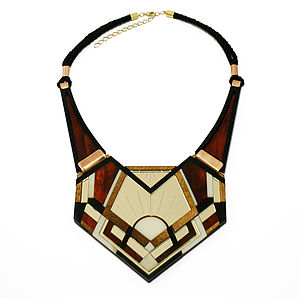 Crest Necklace - statement necklaces