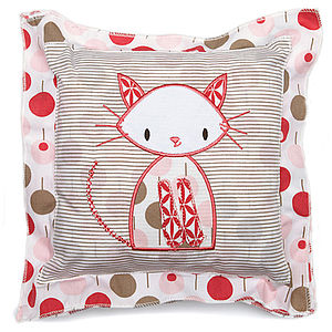 Cat Baby Cushion - soft furnishings & accessories