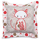 Cat Baby Cushion