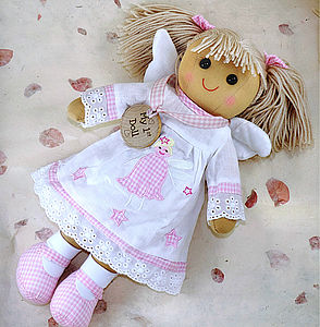 Angel Fairy Rag Doll - gifts for babies