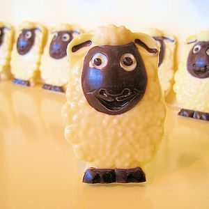 Chocolate Sheep Wedding And Party Favours - children's parties
