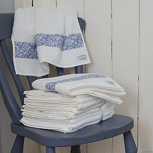 Cotton Lavender Bath Towels