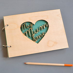 'My Mum And Me' Keepsake Book - gifts from adult children
