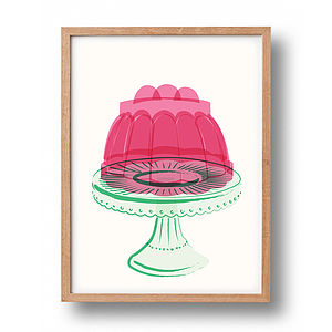 Jelly Graphic Print - children's room