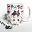 Personalised New Home Mug