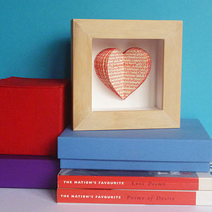 'Our Story' Loveheart Book - home accessories
