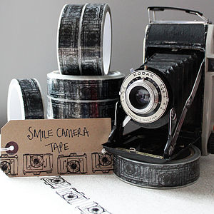 Smile Camera Gift Sticky Tape