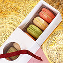 Box Of Twelve Assorted French Macarons