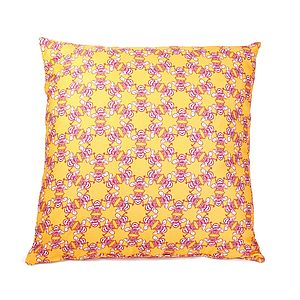 Waggle Dance Cushion - patterned cushions