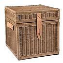 Square Wicker Storage Box