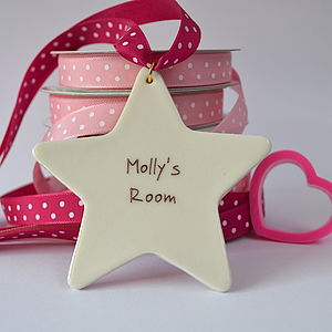Personalised Girl's Bedroom Sign - decorative accessories