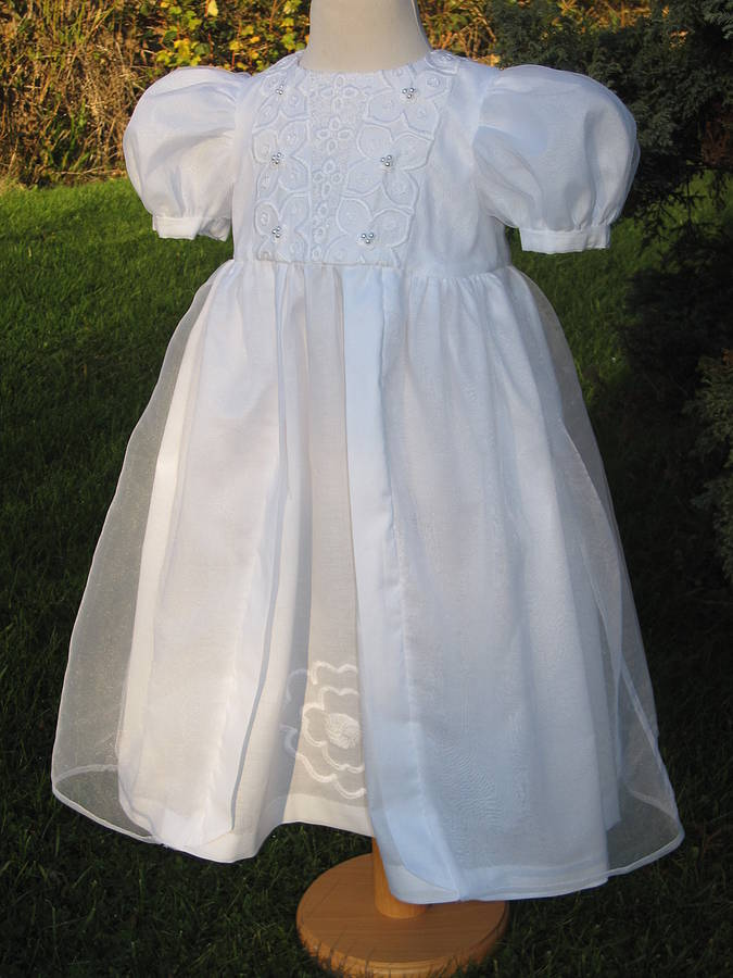 Christening Dress 'Lincoln Silk'