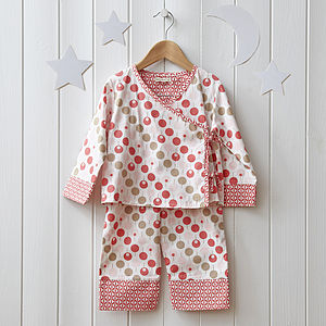 Girls Pink Kimono Pyjamas - shop by price