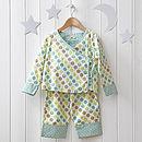 girls green kimono pyjama