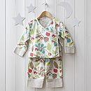 girls floral kimono pyjama