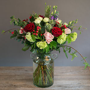 Wild Love Luxury Rose Bouquet - fresh & alternative flowers