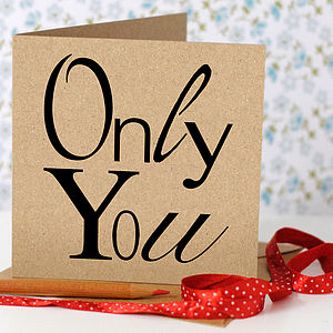 Only You Card - home sale