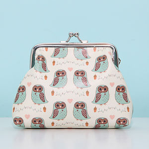 Owl Design Coin Purse - purses & wallets