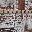 Row Of Ten Factory Hooks