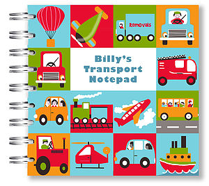 Children's Transport Notebook