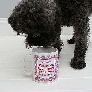 Personalised 'From Your Pet' Mug - mugs