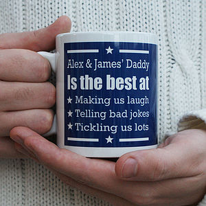 Personalised 'You're The Best' Star Mug