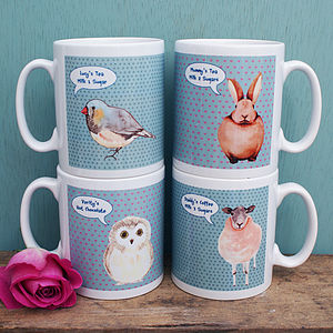Personalised 'One For All Of The Family' Mugs - tableware