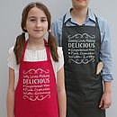 Personalised 'Granny And Me' Apron Set