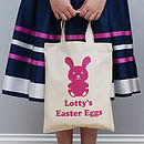 Personalised Children's Easter Shopper Bag