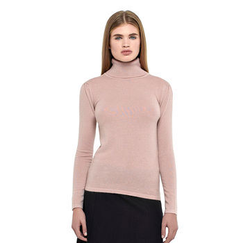 Cashmere Roll Neck Top By Ronit Zilkha